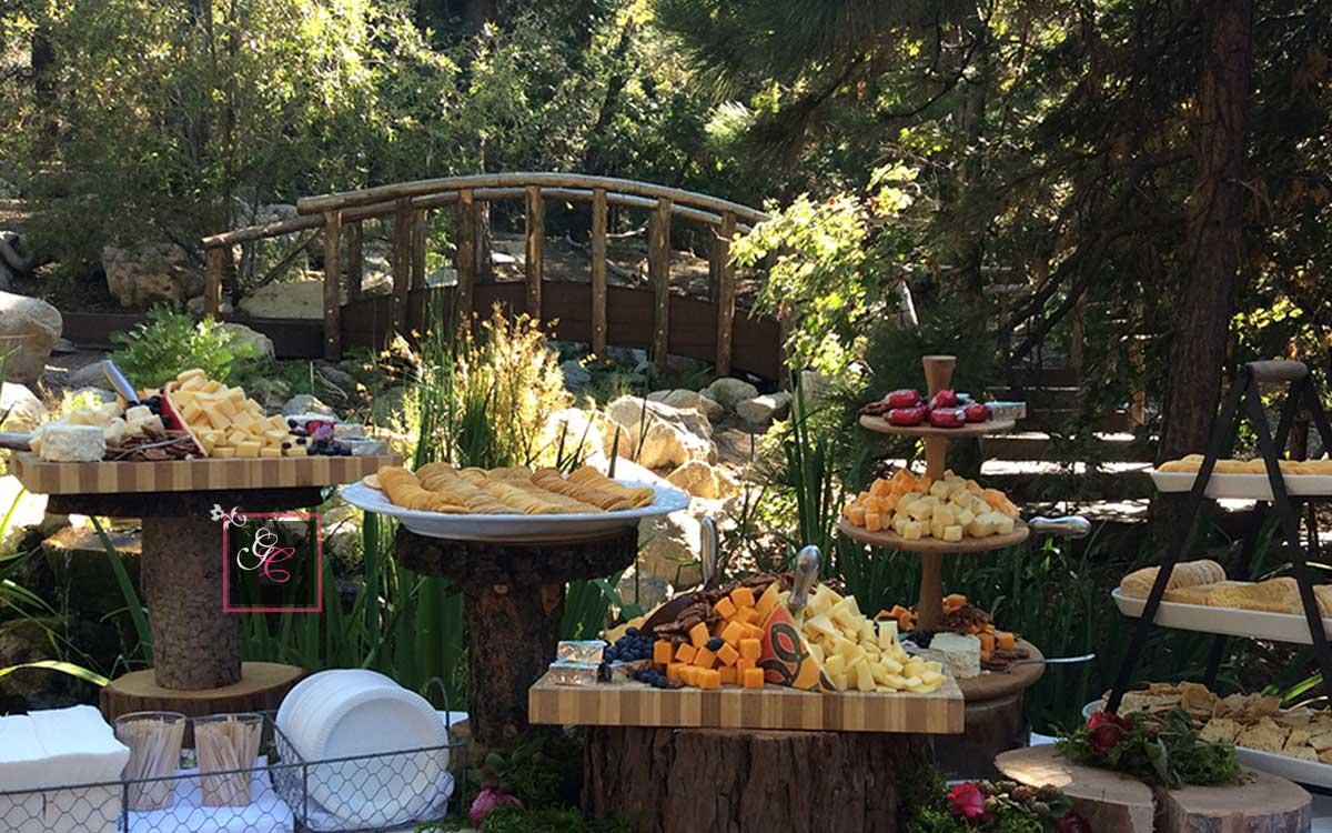 Lake Arrowhead Wedding Graystone Catering